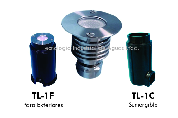 sReflectores LED sumergible o para exteriores
