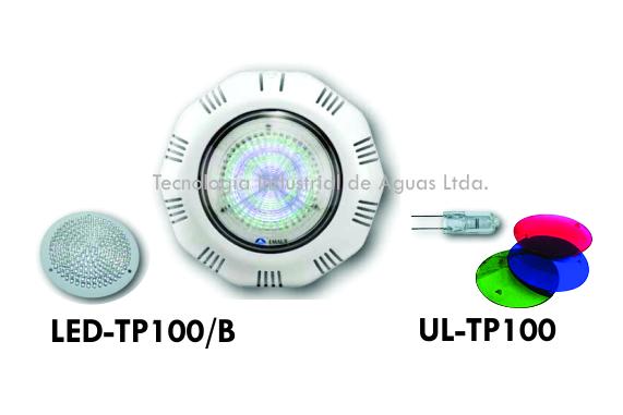 sReflectores de sobreponer para Piscina y jacuzzi  LED o halógenos